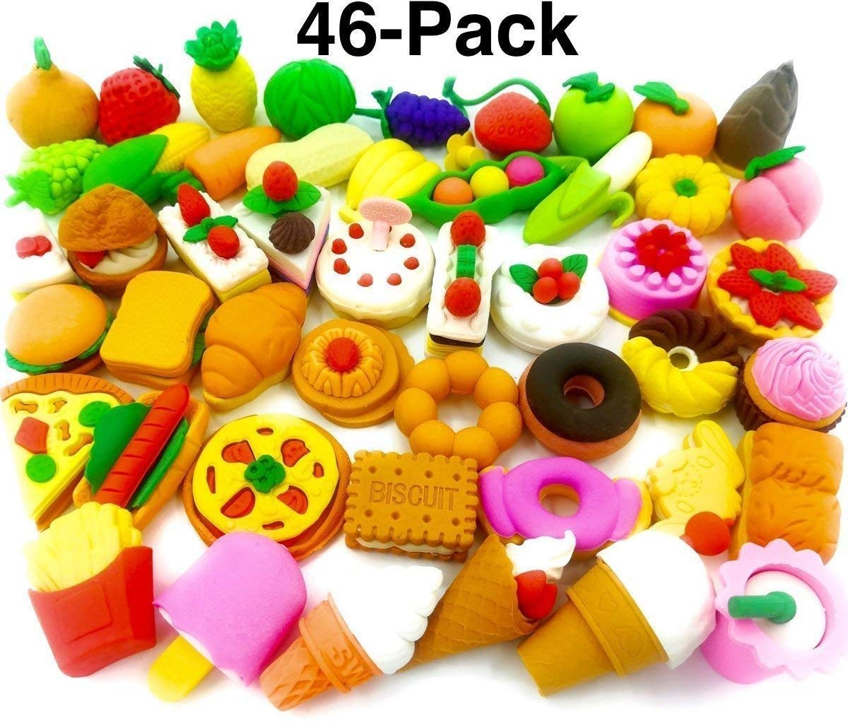 OHill Food Erasers Pack