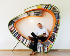Bookshelf Reading Chair