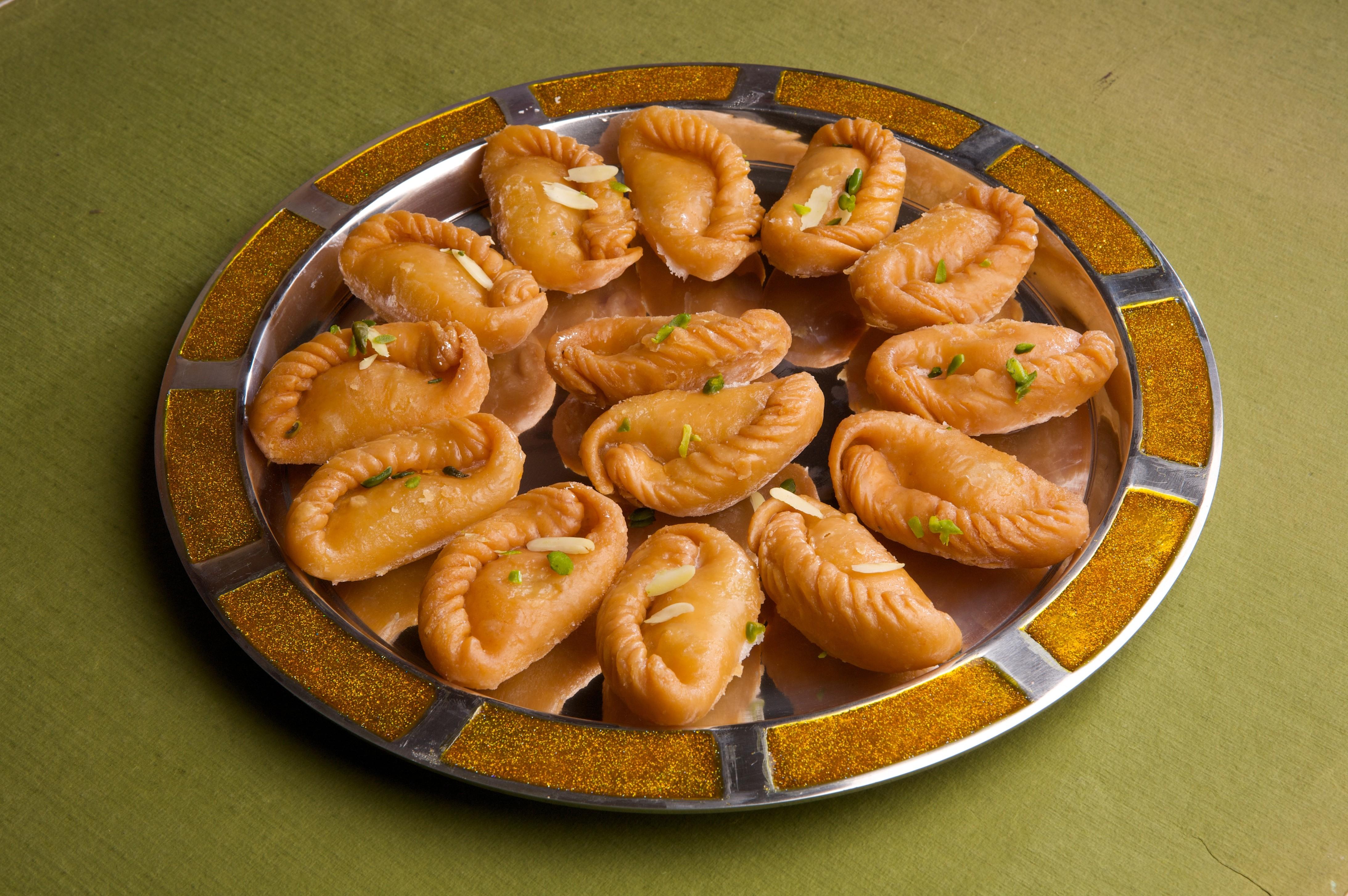 Gujiyas for Holi celebration