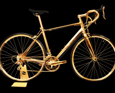 24K Solid Gold Bicycle