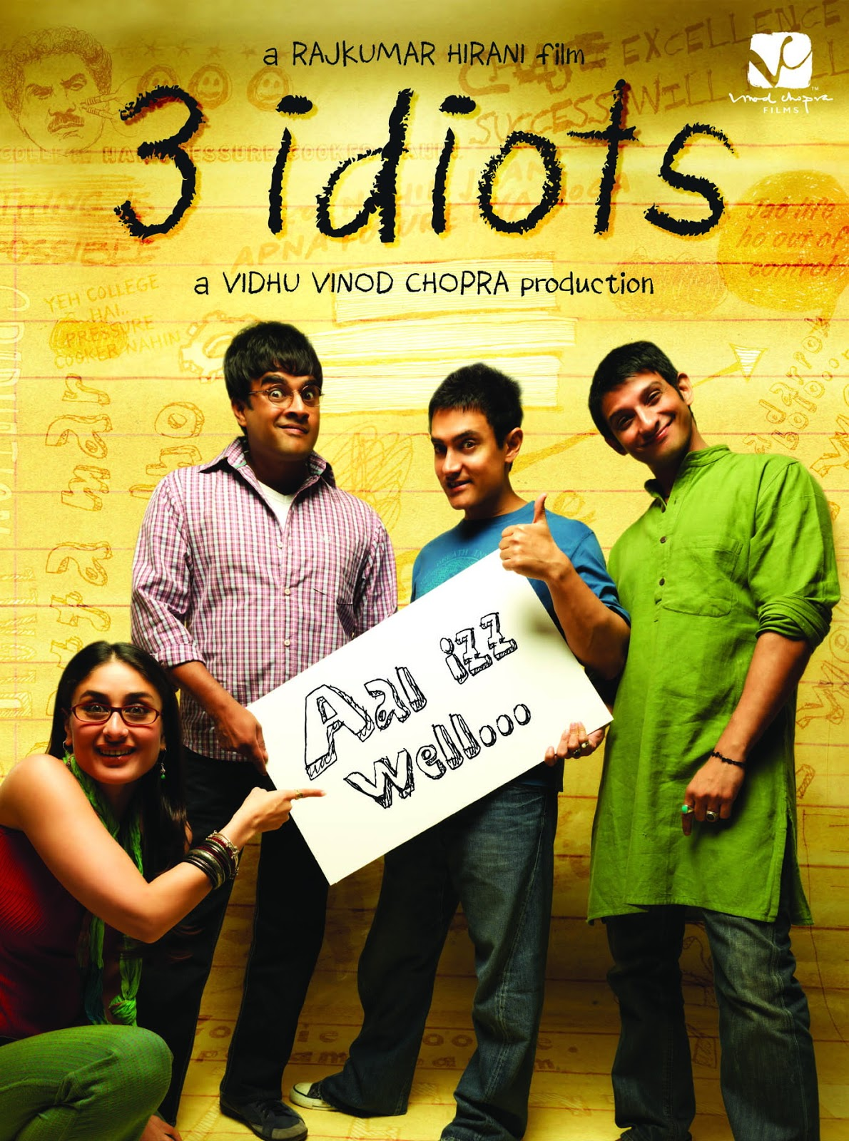 Bollywood Movies-3 Idiots