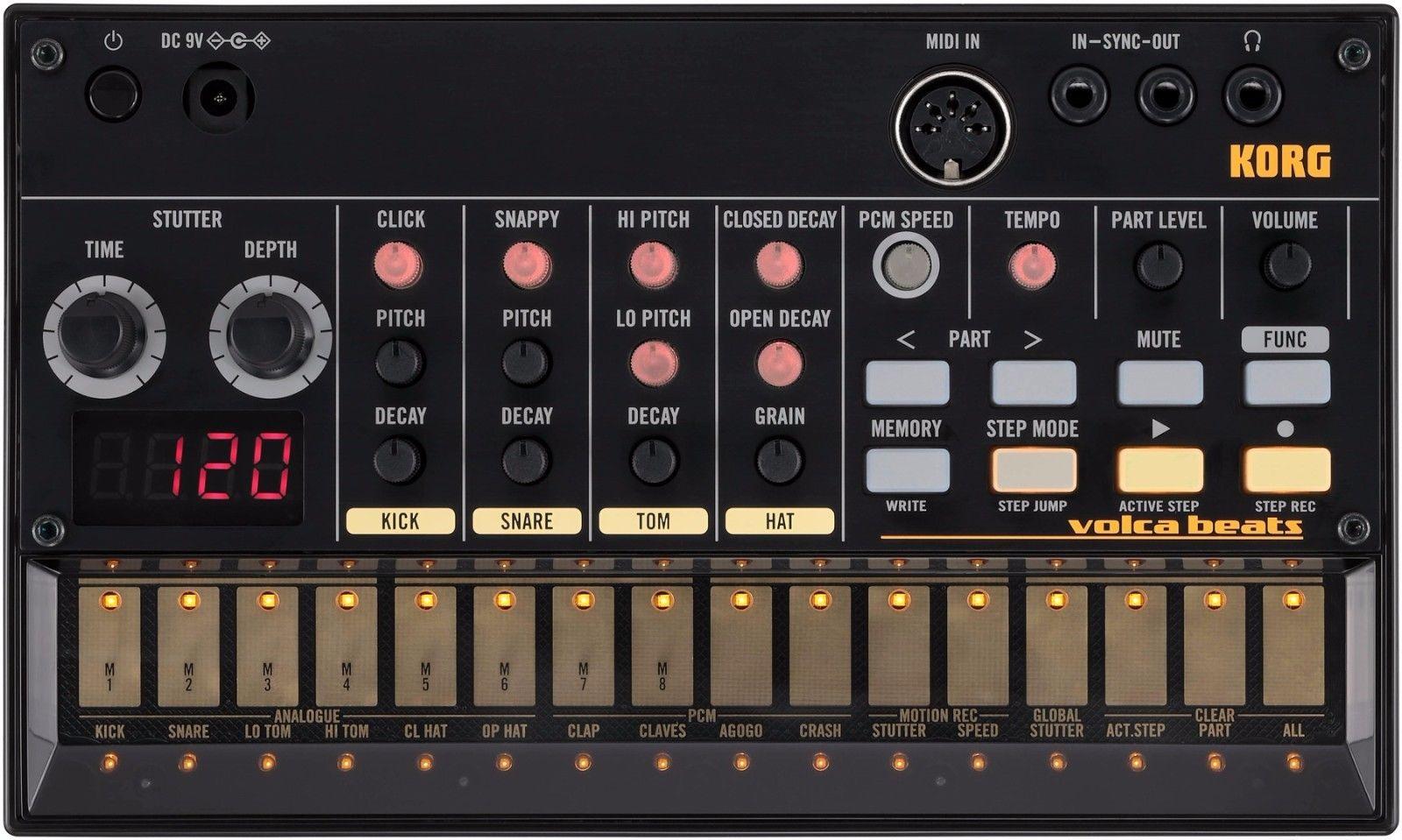 Analog Rhythm Machine_musical instruments