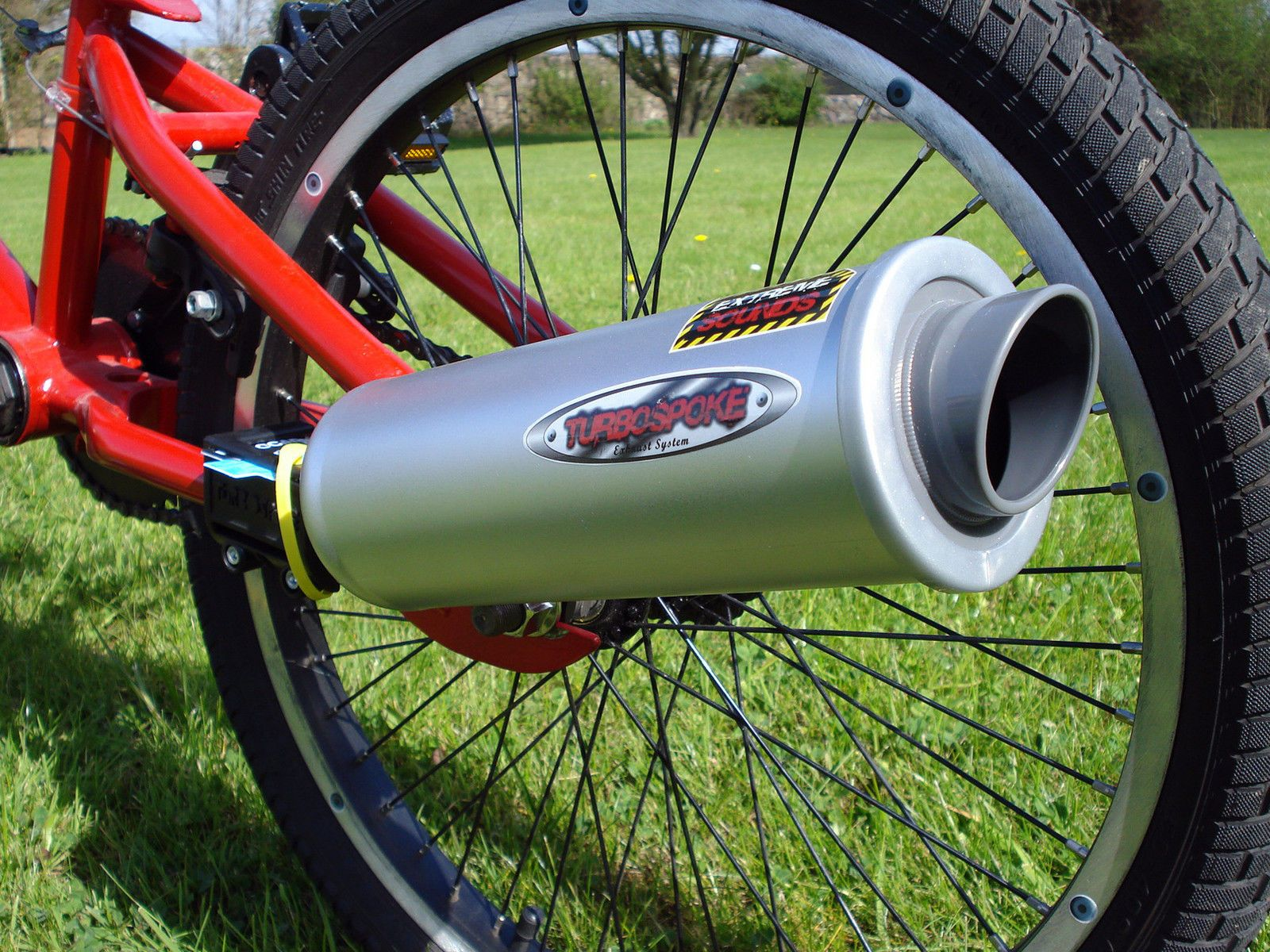 Bicycle Exhaust