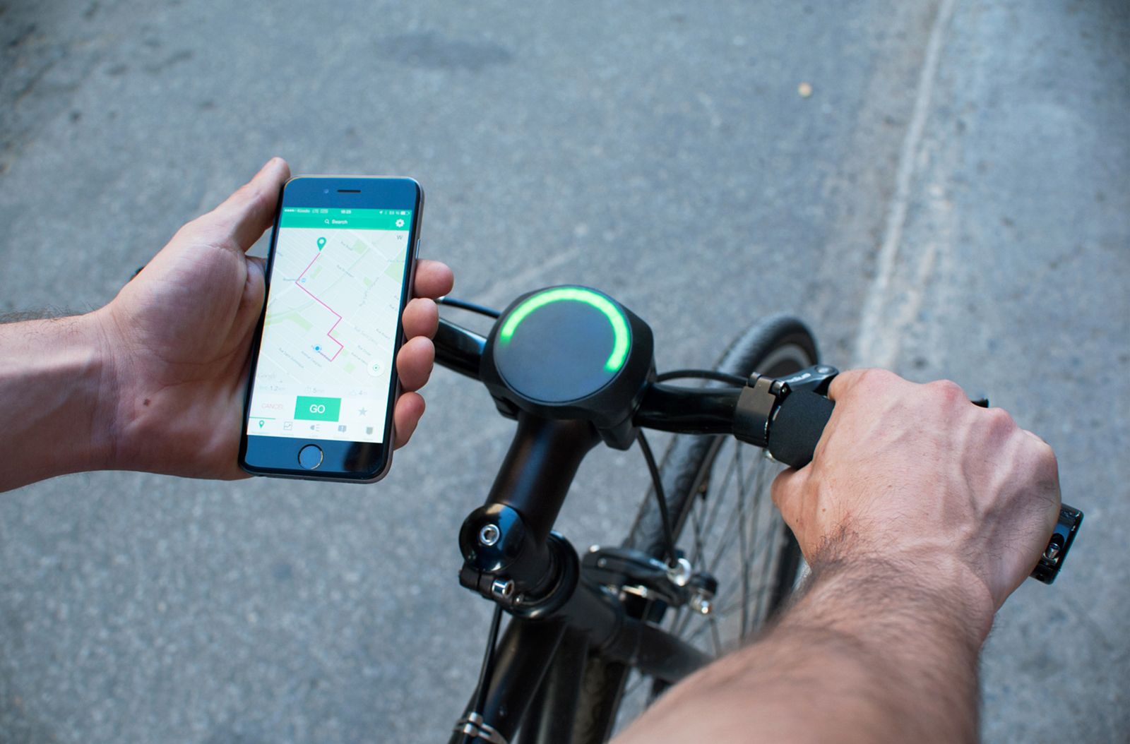 Bicycle Smart Navigation Device