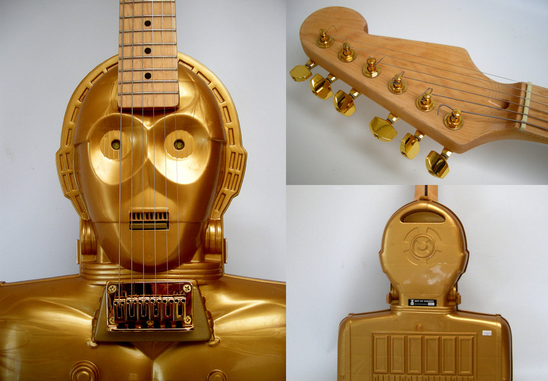 C-3PO Guitar_musical instruments