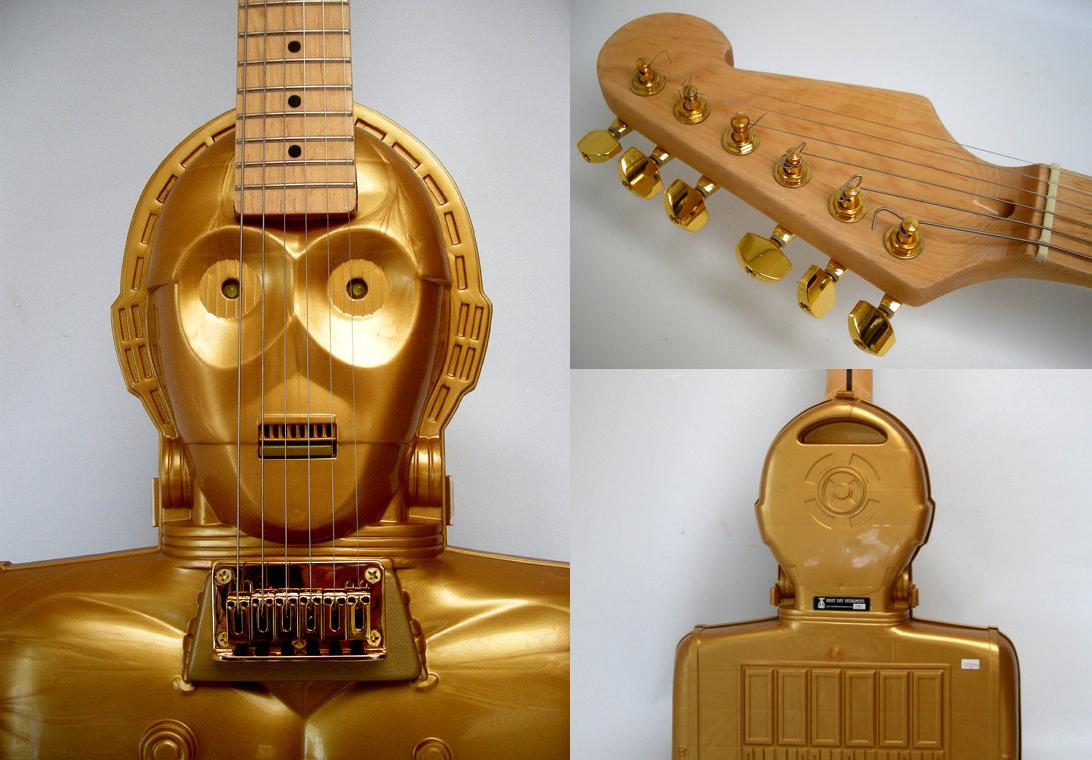 C-3PO Guitar_musical instruments