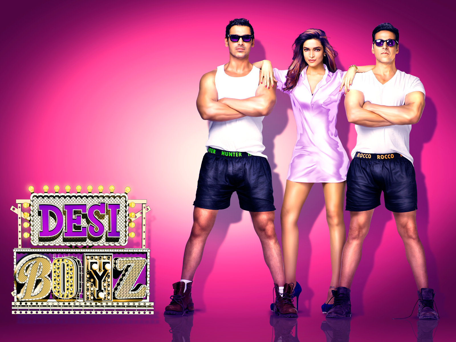 Bollywood Movies-Desi Boyz