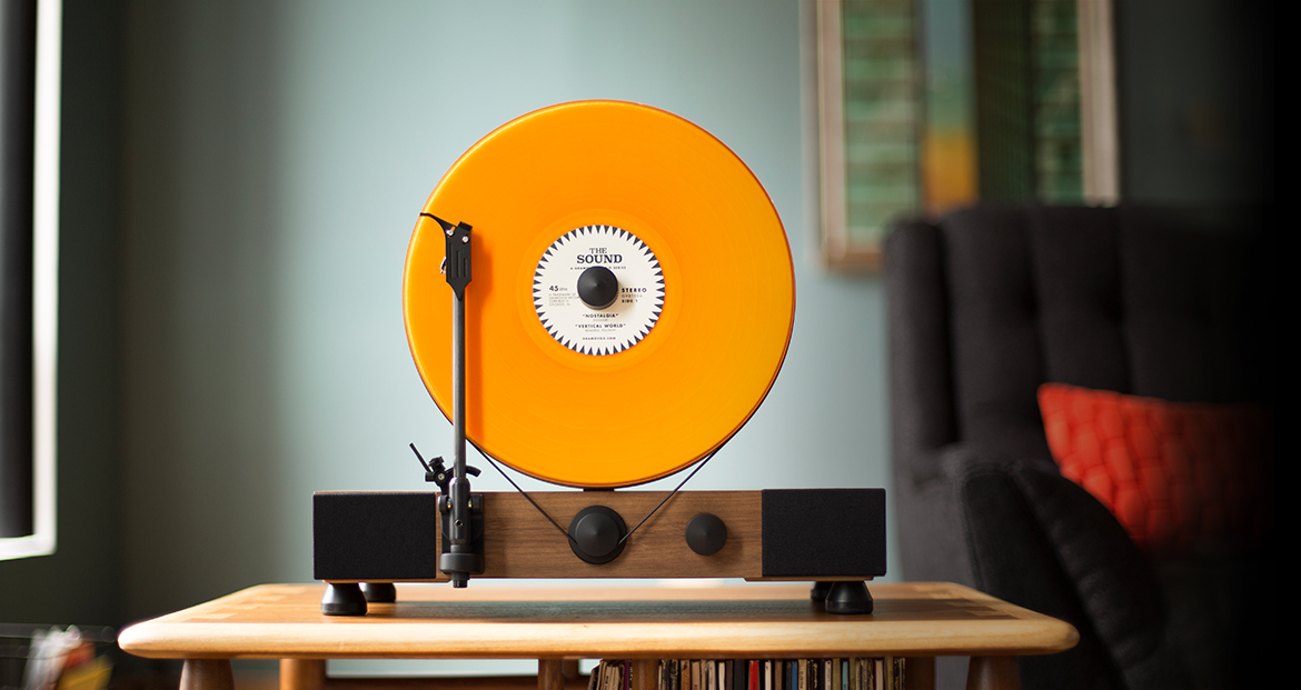 Floating Record Player_musical instruments