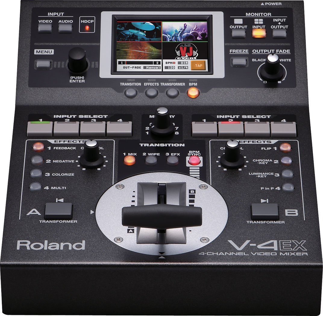 Four Channel Digital Mixer