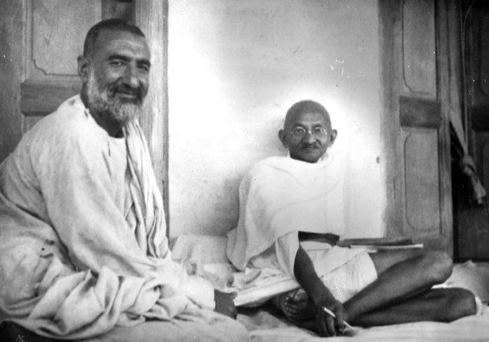 Frontier Gandhi with Mahatma Gandhi