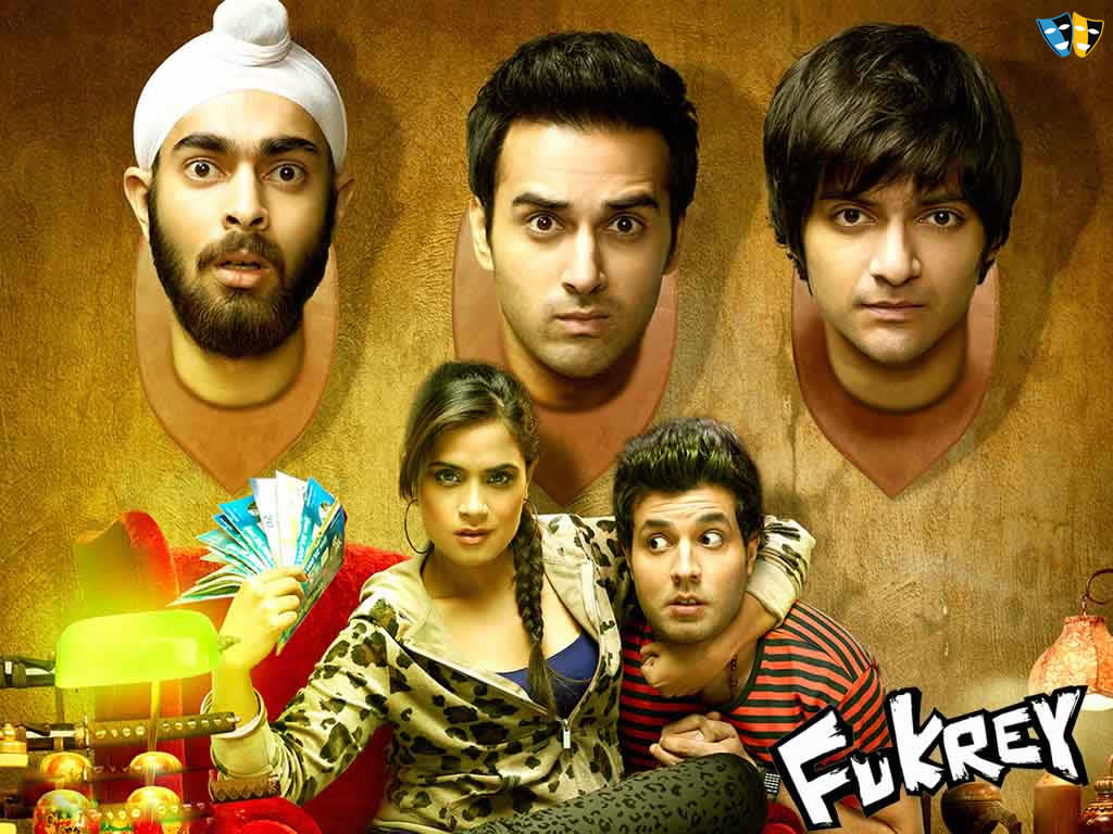 Bollywood Movies-Fukrey