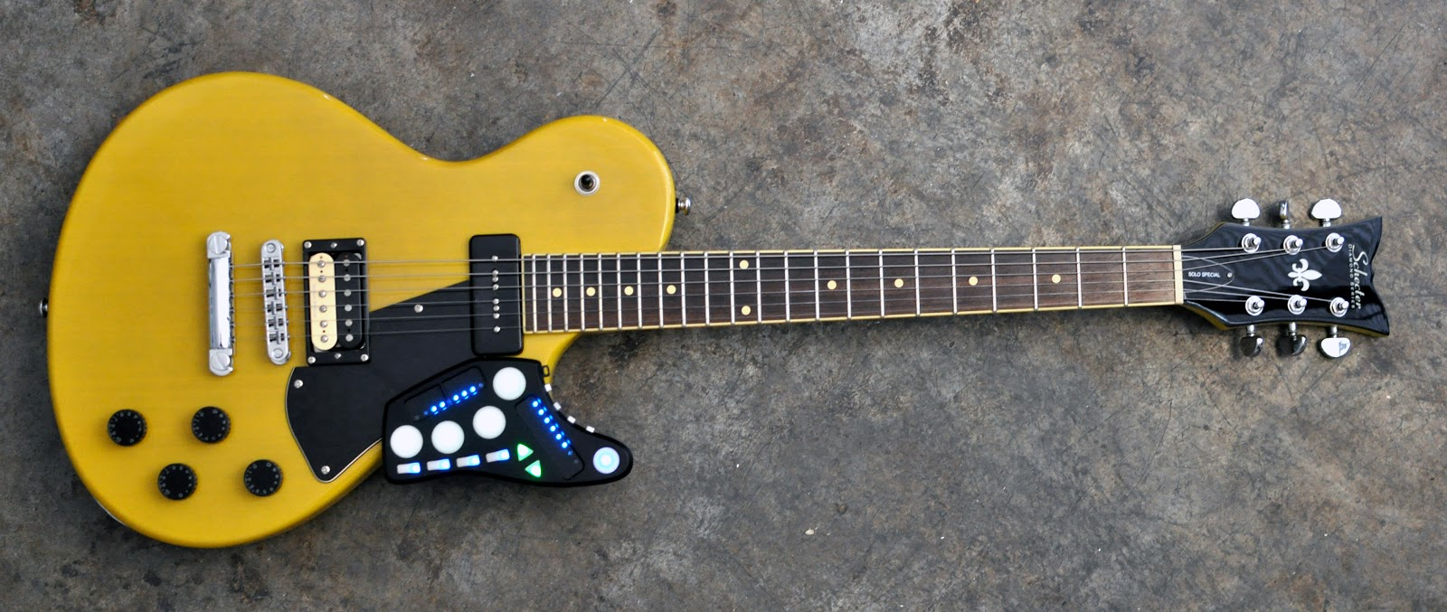 Guitar Wing Wireless 3D Controller_musical instruments