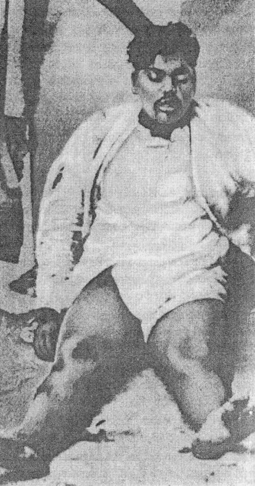 Last photo of Chandra Shekhar Azad at Alfred Park