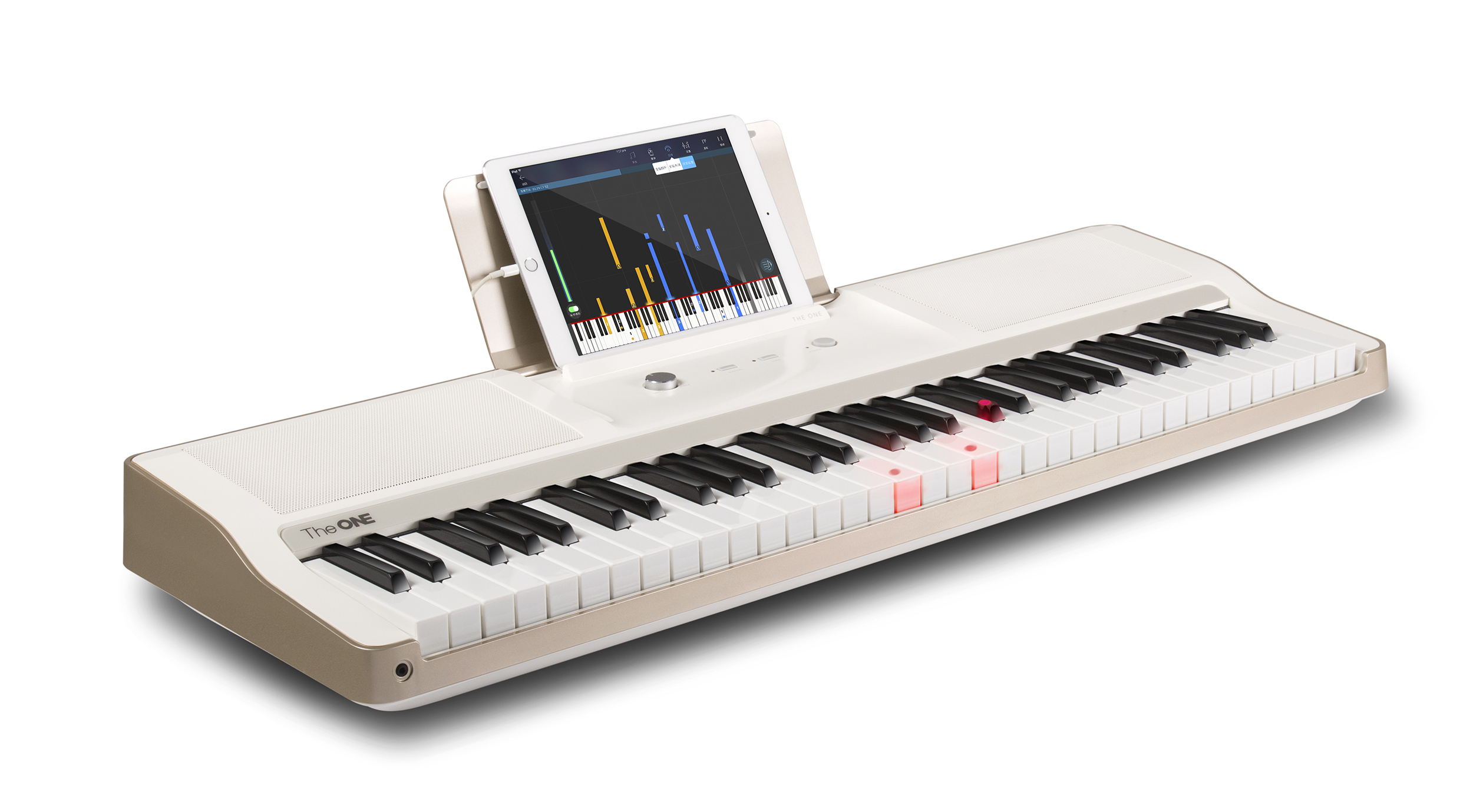 Light Up Learn To Play Keyboard_musical instruments