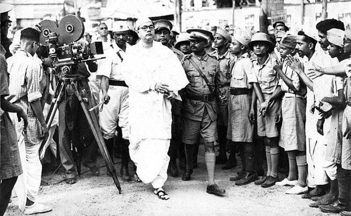 Netaji caught by the British Police for the last time