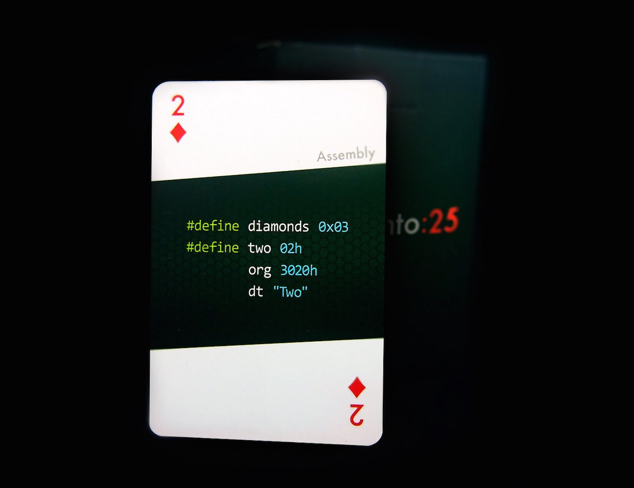 Programming Playing Cards