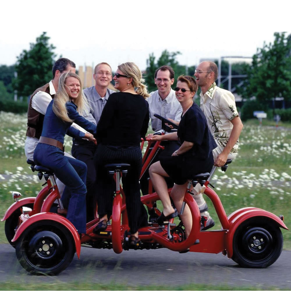 Seven Person Tricycle