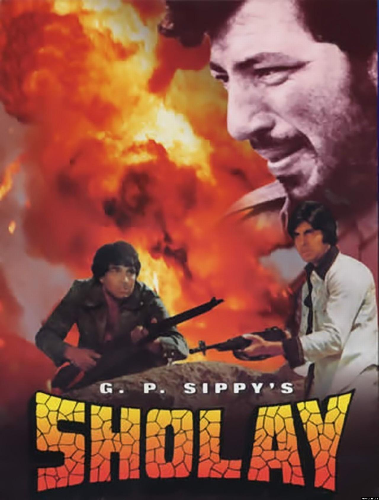 Bollywood Movies-Sholay
