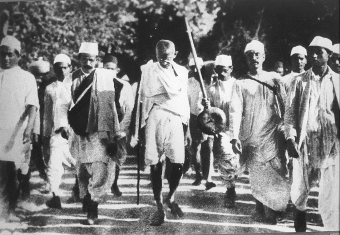 The Dandi March or The Salt Satyagraha of 1930