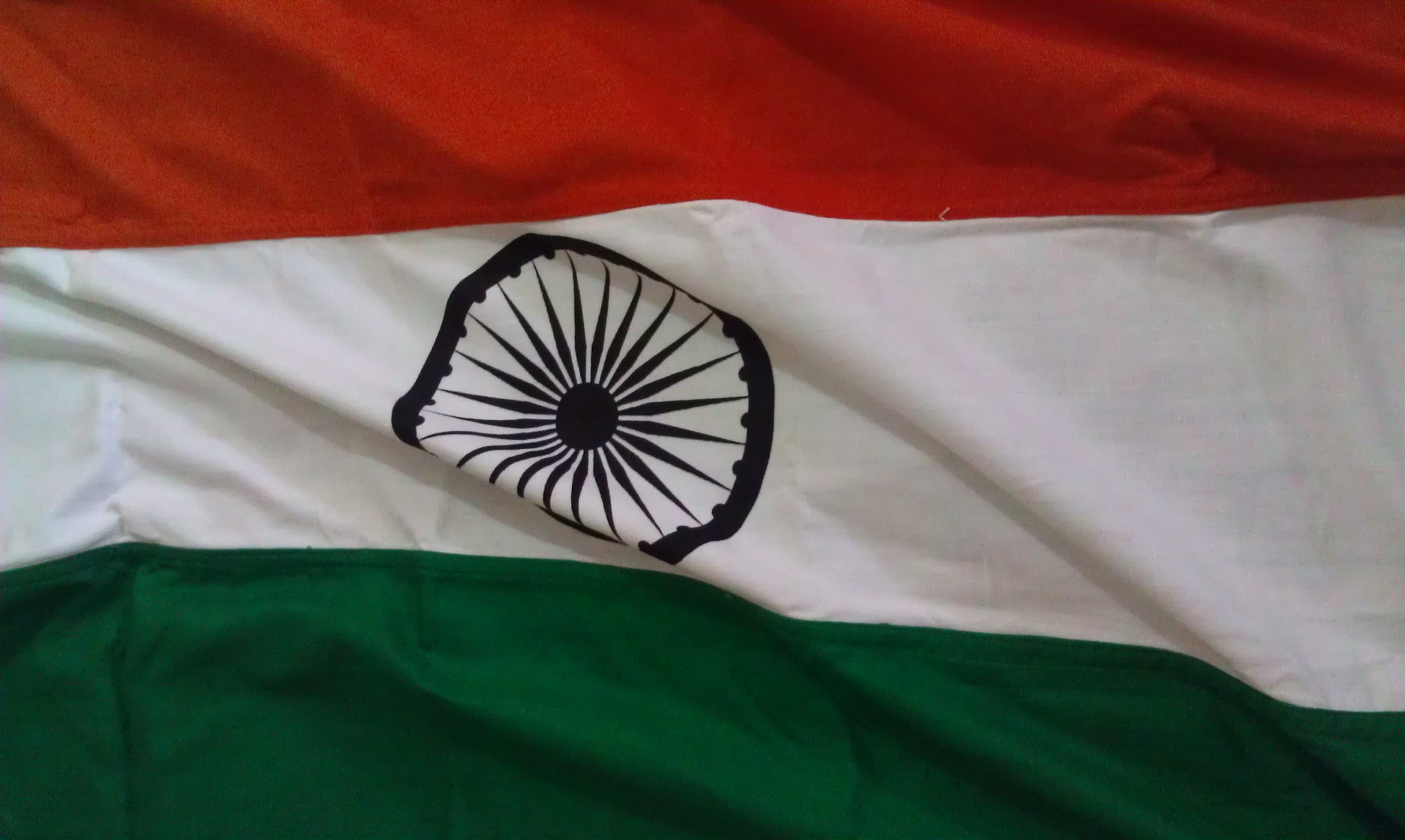 We see various adoptions of the Indian national flag today