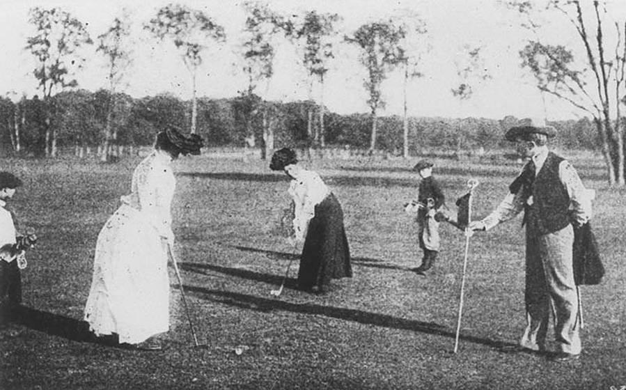 Women Make Olympic Debut