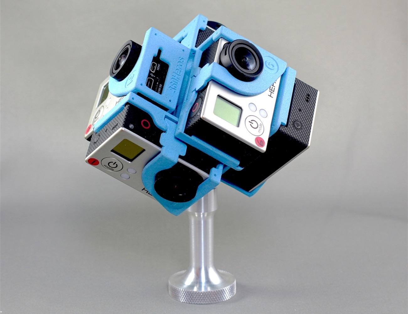 360 Degree GoPro Camera Holder_Online Camera
