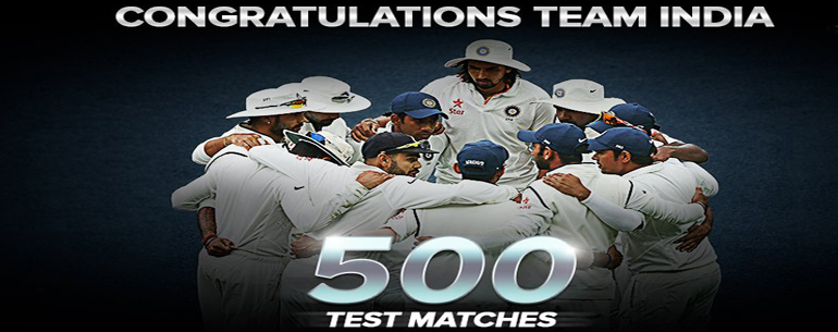 India's 500 Test : Cherishing Greatest Moments Of Indian Cricket History