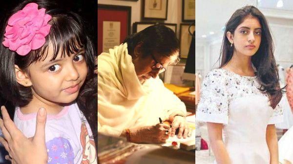 Aaradhya_Navya Naveli_Amitabh Bachchan's letter