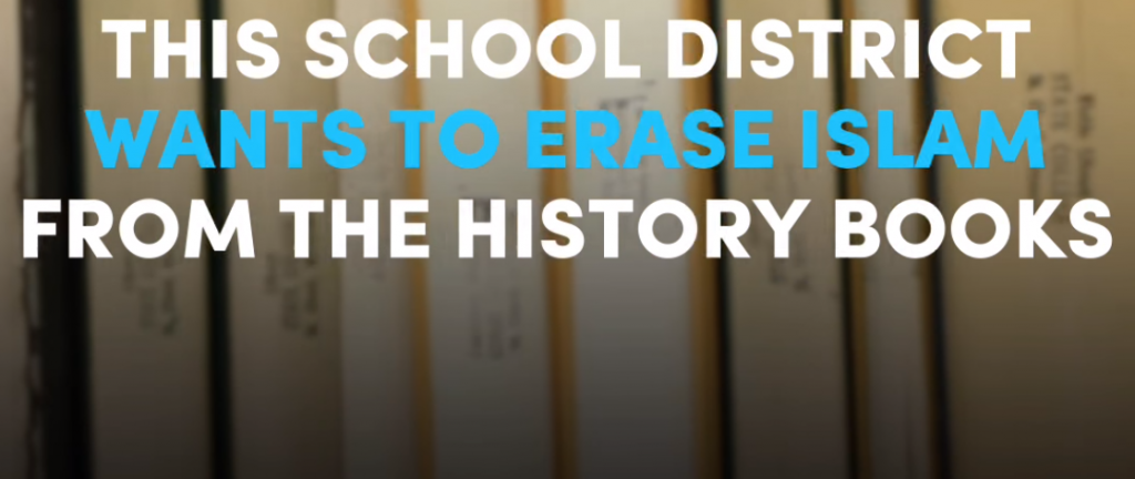 OMG! This School District Wants To Erase Islam From The History Books