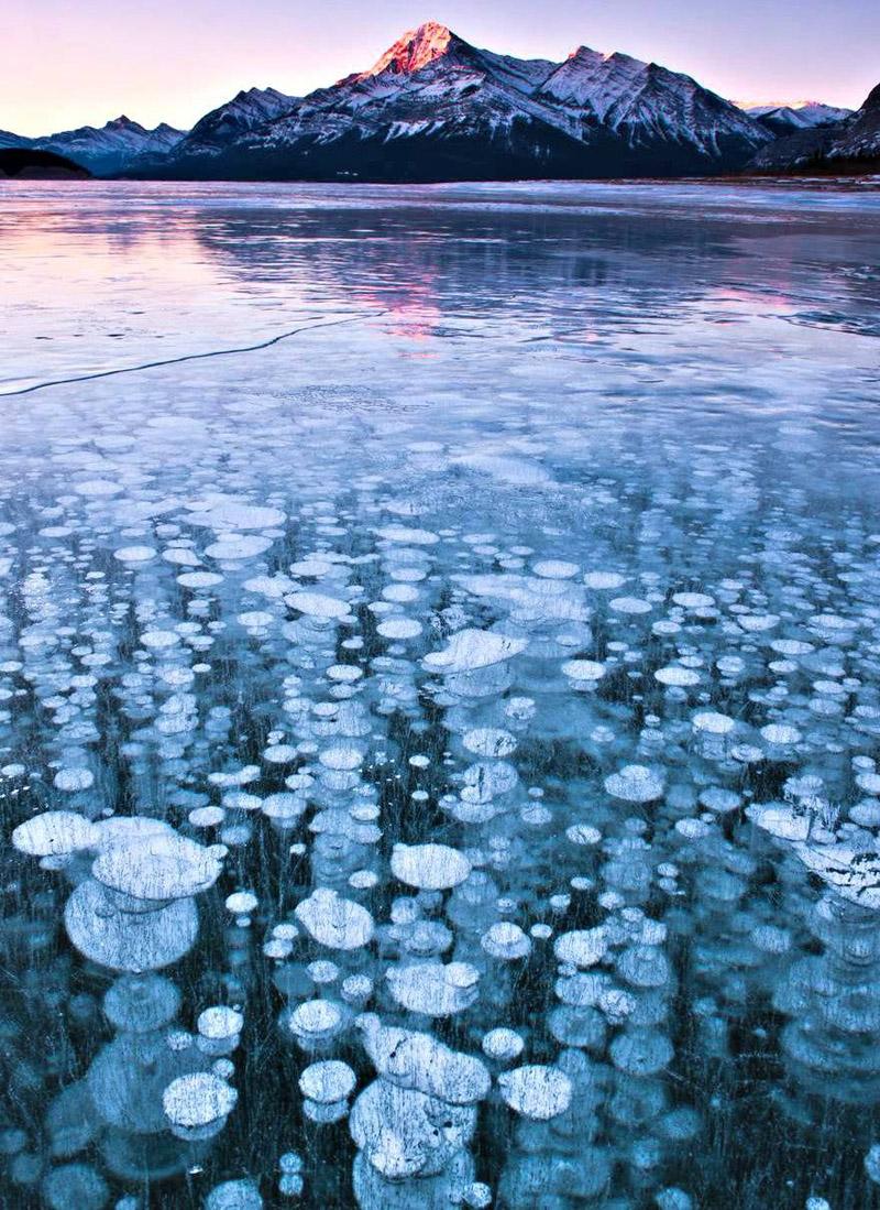 frozen-methane-bubbles_-natural-phenomena