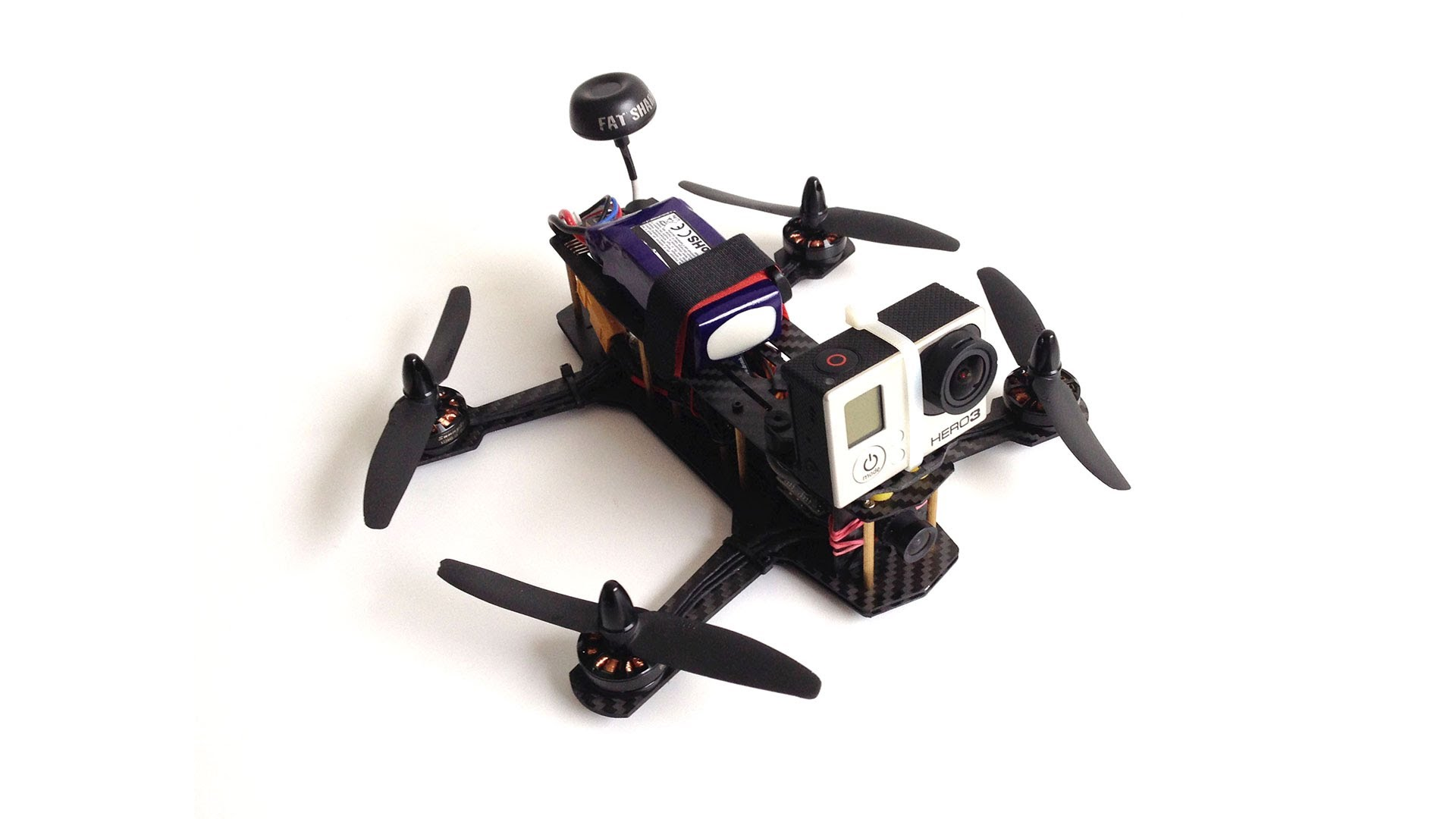 GoPro Mounted Quadrocopter_Online Camera