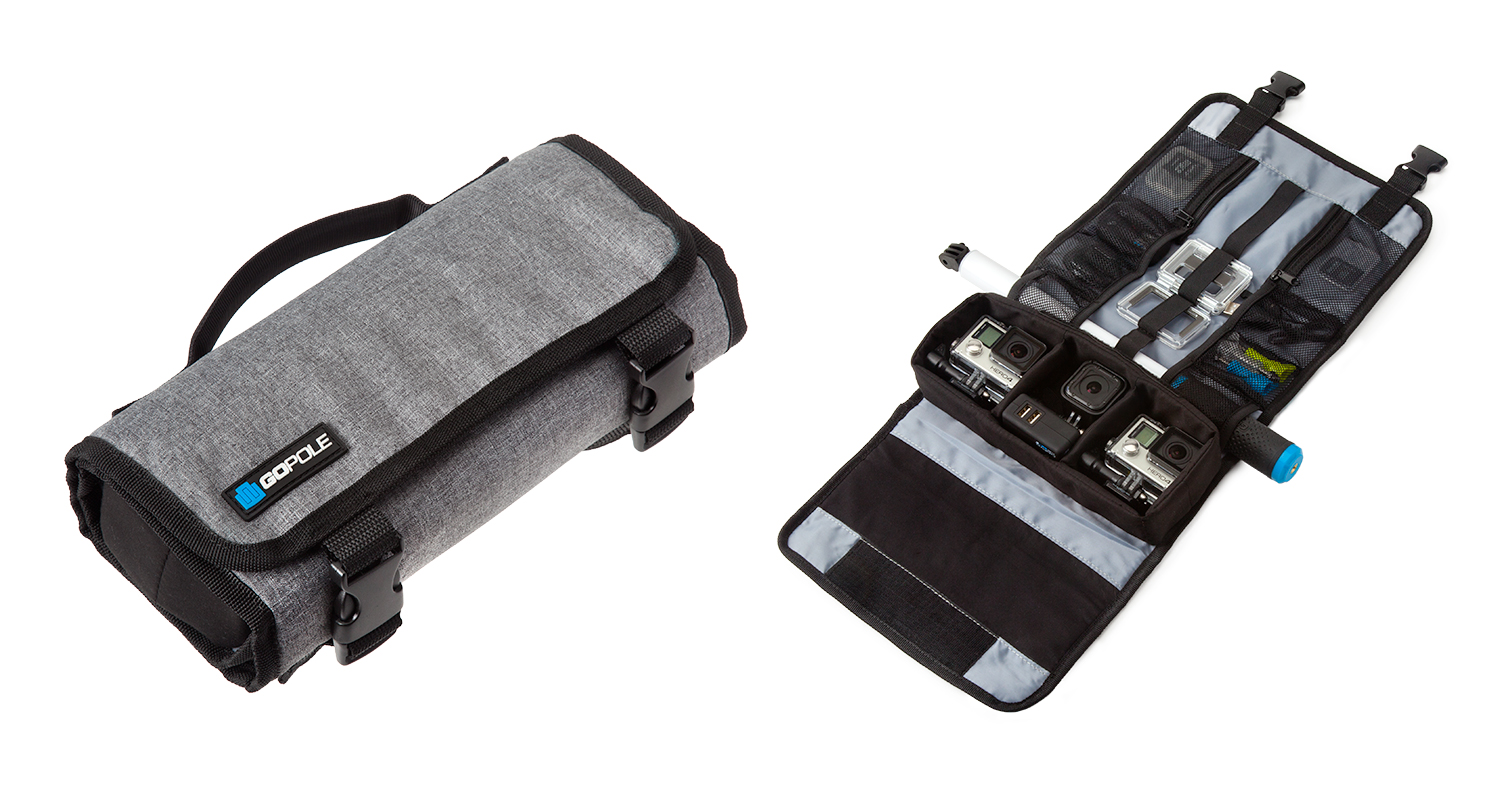 Portable Roll-Up GoPro Case_Online Camera