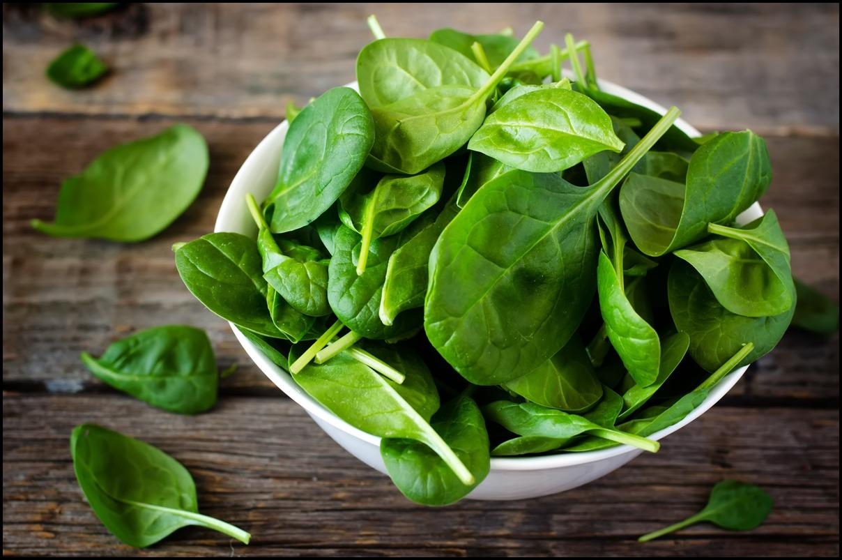 Vitamin u in spinach