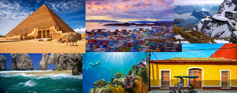 World Tourism Day, 2016: Let's Explore 40 Dreamy Travel Destinations