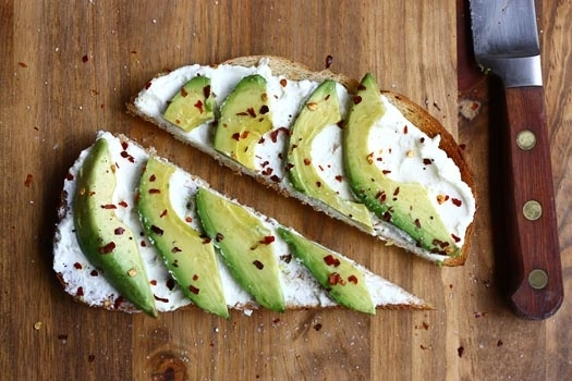 Vegan Breakfast Recipes- recipe-avocados-on-toast-with-ricotta