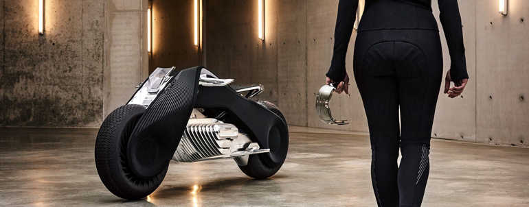 Why BMW Motorrad Vision Next 100 Is The  Futuristic Motorcycle For Superheroes Like You!