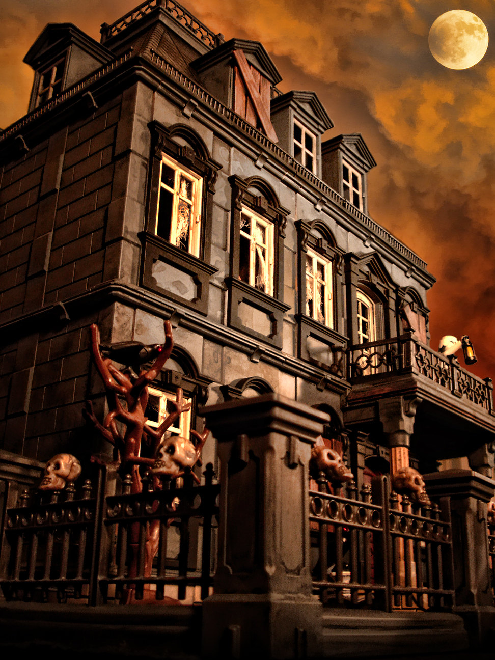 haunted-halloween-mansion-dollhouse_halloween-gifts