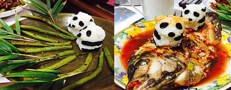 These Delicious Meals Shaped Like PANDAS That Will Whet Your Appetite