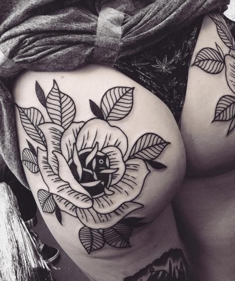 Dangerous Curves Ahead Tattoo Design