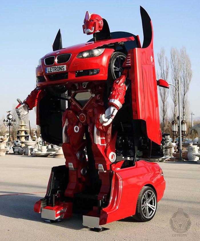 real-life-transformer-bmw-v5