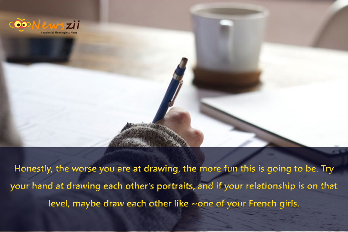 draw-each-others-portraits-dating
