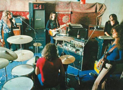 Deep Purple Recording At Clearwell Castle