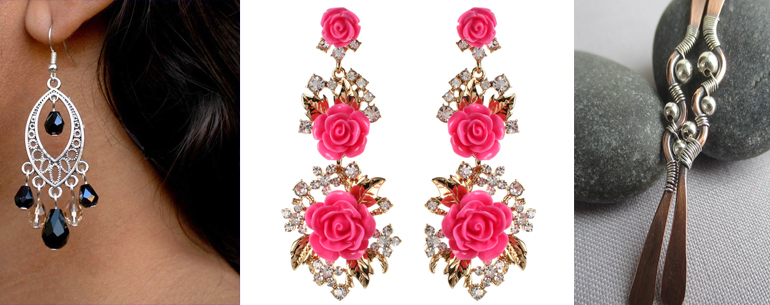 30 Earrings To Rock Over The Holidays And New Year You Must Check Out