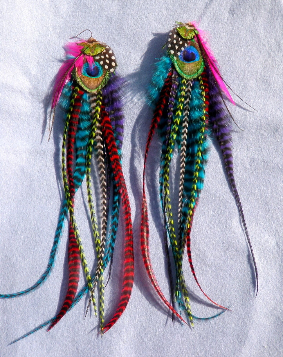 Extra Colorful-earrings