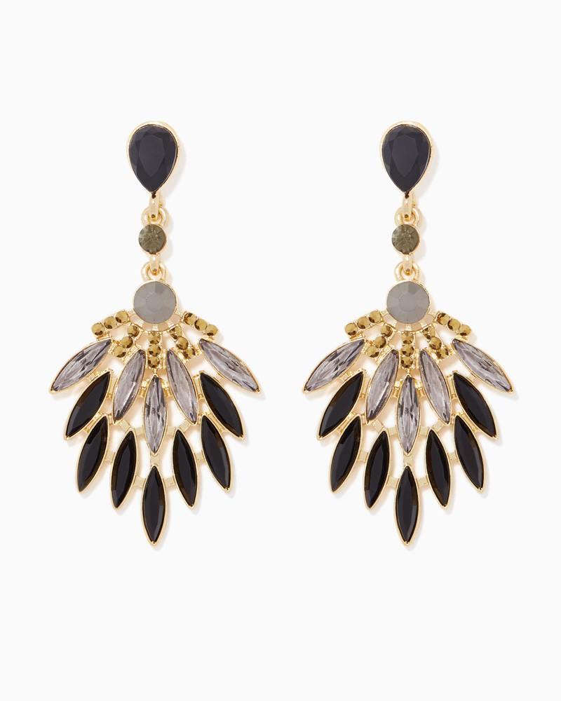 Fan-earrings