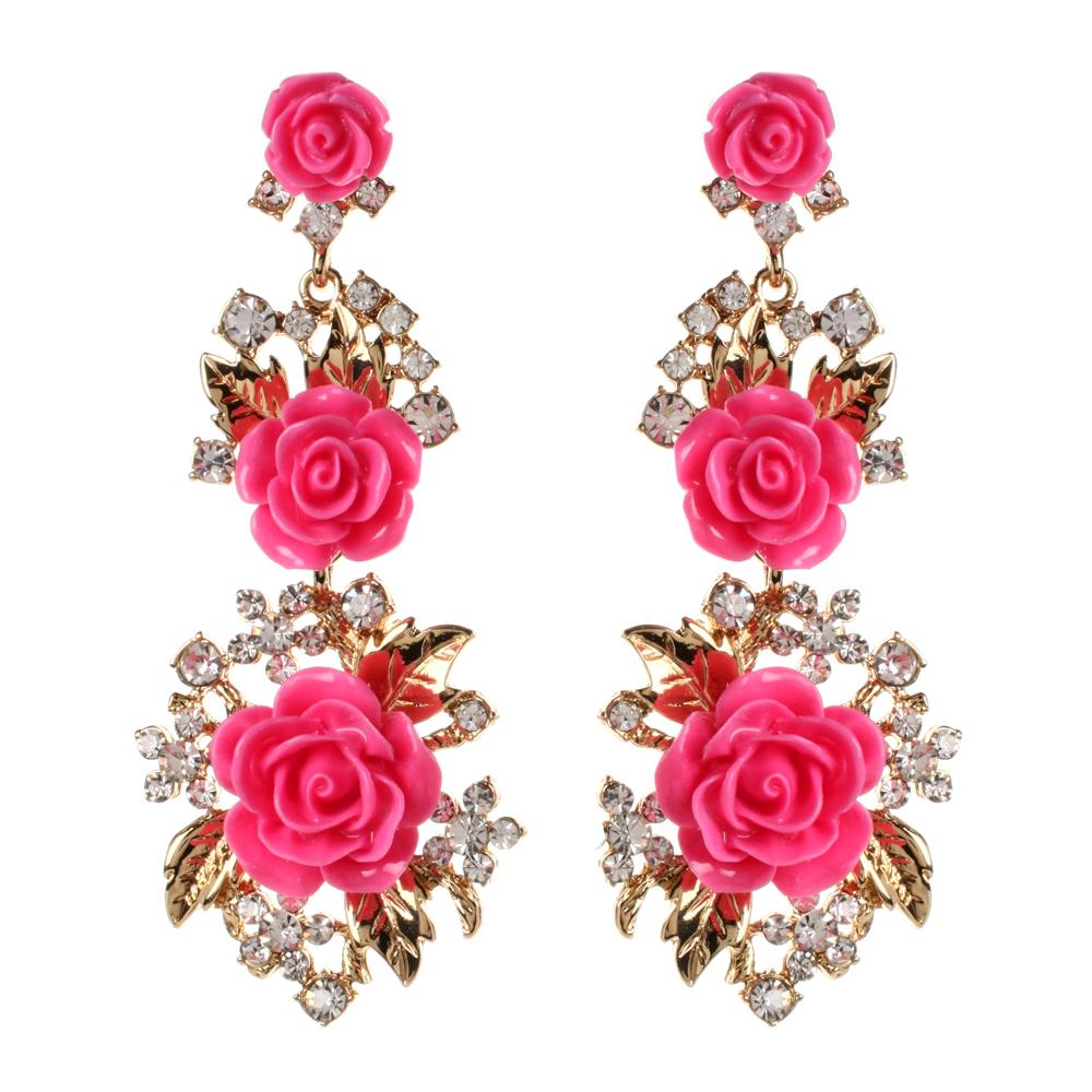 Floral-earrings