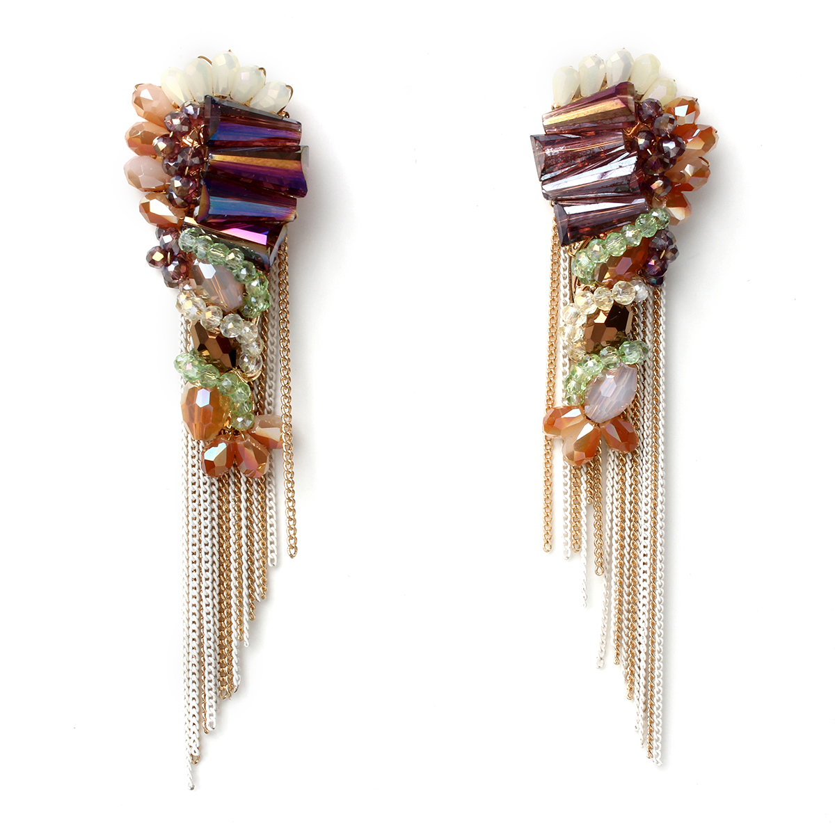Fringe-earrings