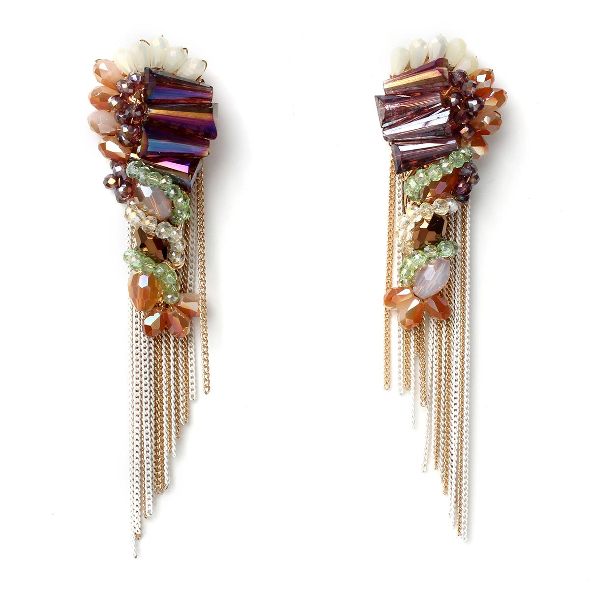 Fringe-earrings