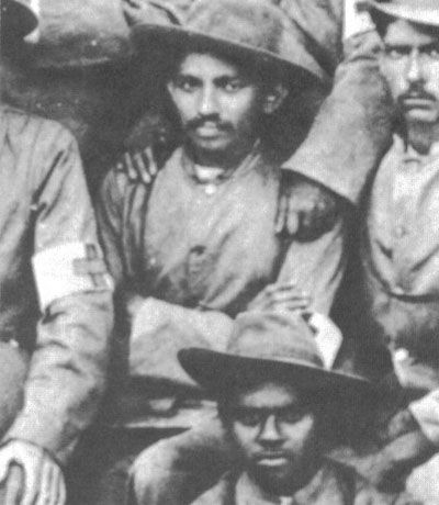 Gandhi during the Boer War