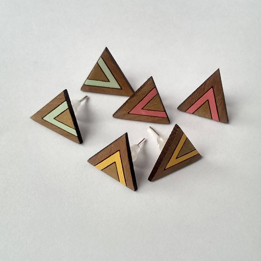 Geometric-earrings